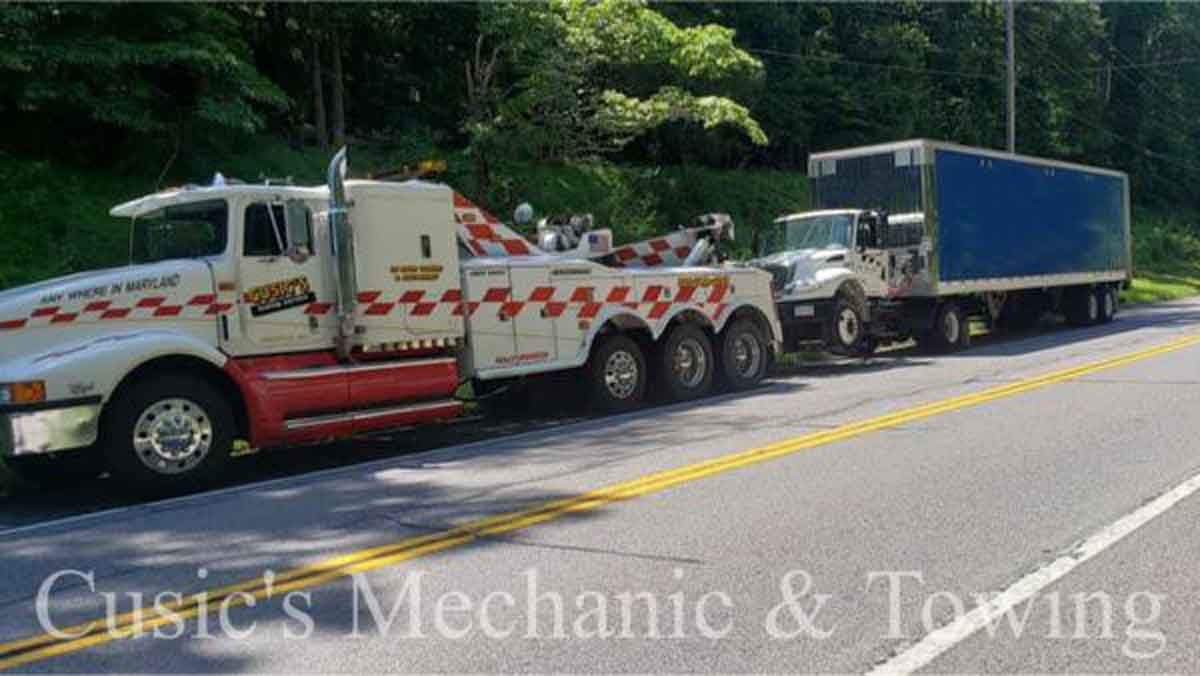 Heavy Towing South Maryland