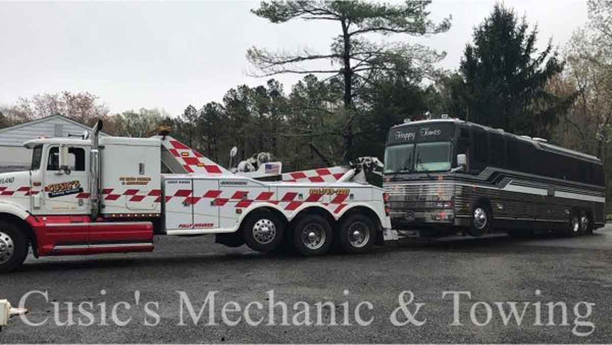RV Towing Southern Maryland